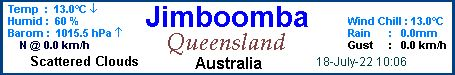 Jimboomba Weather Icon